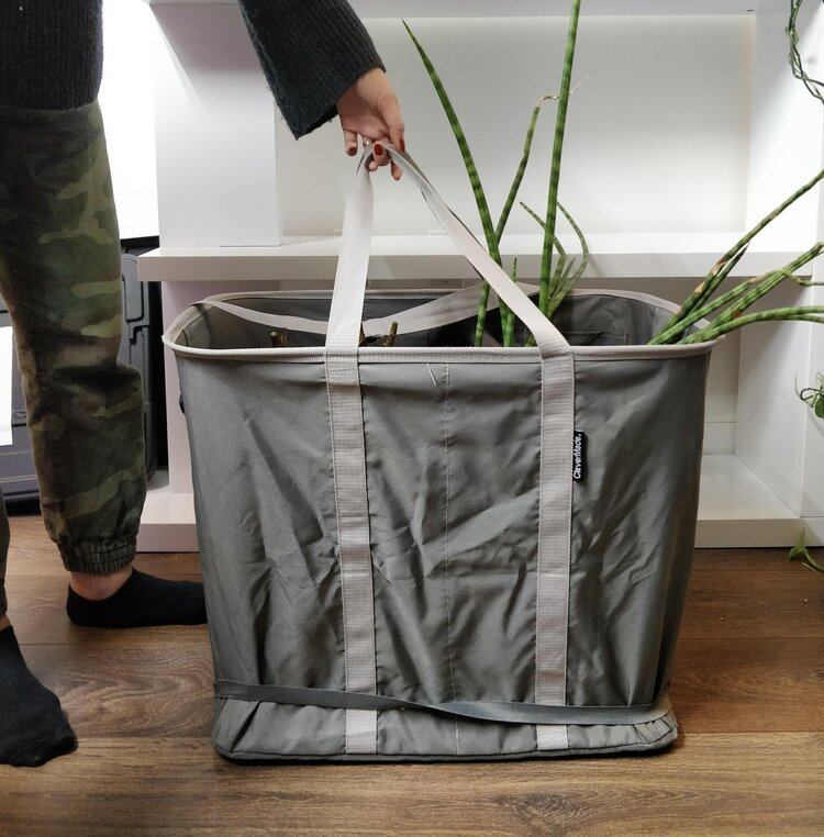 The best tote for plants (I heard it can also be good for laundry)! Get it here:  https://amzn.to/2QmxtFb